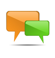 Chat Bubbles vector image vector image