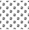 chocolate bar pattern seamless vector image vector image