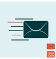 Message icon isolated vector image vector image