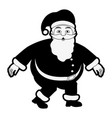 santa claus cartoon icon image vector image