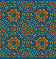 seamless doodle pattern colorful background vector image vector image