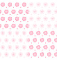 set seamless patterns with roses vector image vector image