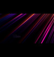 abstract neon glowing background vector image