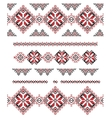 Collection of ornaments vector image vector image