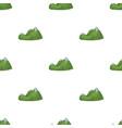green mountainsmountain range covered with dense vector image