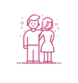 icon valentines day concept vector image vector image