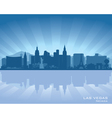Las vegas nevada skyline vector | Price: 1 Credit (USD $1)