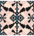 pixel ethnic seamless pattern ideal vector image vector image