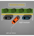 Reverse Parking 02 B vector image vector image