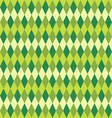 seamless green abstract mosaic background vector image vector image