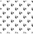 Snowdrop pattern simple style vector image vector image