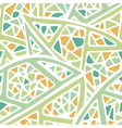 staines glass leaf light colors seamless pattern vector image