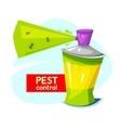 Pest control concept design vector image