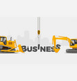 business creation banner vector image