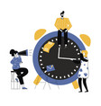 effective time management vector image vector image