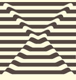 lines wave chocolate background vector image vector image