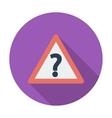 Question single icon vector image