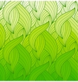 wave background of doodle drawn lines vector image vector image