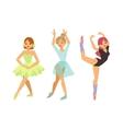 Ballerina dancer girl
