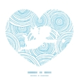 doodle circle water texture shooting cupid vector image vector image