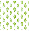 nature plants seamless pattern vector image vector image