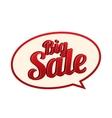 Sale icon Speech bubble vector image