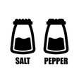salt pepper icon vector image vector image