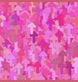 seamless random arrow pattern background vector image vector image