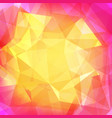 abstract square triangle background vector image