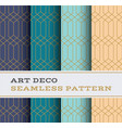 art deco seamless pattern 38 vector image vector image