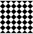 Checkered seamless background pattern of squares vector image vector image