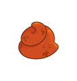 poop cartoon character - sickness poo emoticon vector image vector image