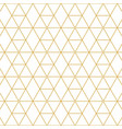 retro pattern gold squares vector image