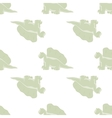 ridiculous dinosaurs on a white background vector image vector image