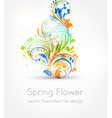Spring Flower Background vector image vector image