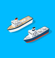 Transport isometric boat