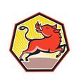 Wild Pig Razorback Hog vector image vector image