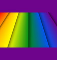 abstract rainbow colors stripes background vector image vector image