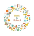 Background for Back to School vector image vector image