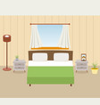 bedroom vector image vector image