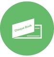 Cheque Book vector image