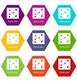 game plan icons set 9 vector image