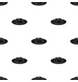 panna cotta icon in black style isolated on white vector image