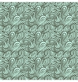 Pattern with curls and loops vector image vector image