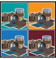 photo equipment vector image vector image
