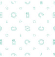 refresh icons pattern seamless white background vector image vector image