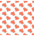 seamless pattern with great britain flag vector image