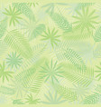 tropical jungle seamless pattern background vector image vector image