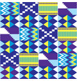 african kente nwentoma seamless pattern vector image
