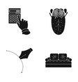 bank medicine textiles and other web icon in vector image vector image